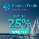 Genesis Trade Fund - up to 25% weekly!